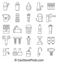 Water system Illustrations and Stock Art. 13,345 Water