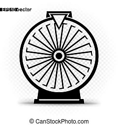 Fortune wheel Clipart Vector and Illustration. 3,289