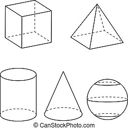 Geometry Vector Clip Art Illustrations. 386,788 Geometry