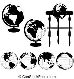 Eastern hemisphere Illustrations and Stock Art. 980