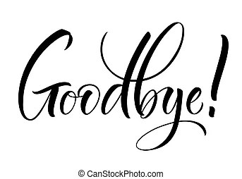 Goodbye Clip Art and Stock Illustrations. 2,127 Goodbye