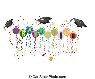 351 graduation stock