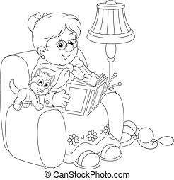 Granny Clipart and Stock Illustrations. 5,221 Granny