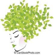 greenery vector clipart royalty