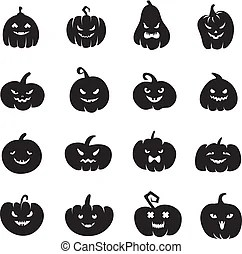evil smile vector clipart illustrations