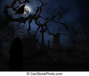 graveyard clipart and stock illustrations