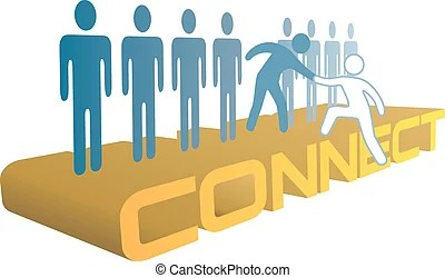 People help connect join technology. Technology consultant... clipart vector - Search Illustration. Drawings and EPS Graphics Images - csp15205150