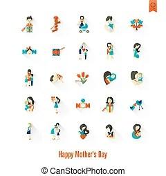parents baby clip art vector graphics