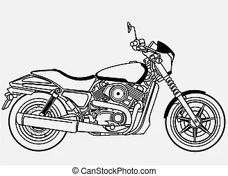 Harley Clip Art and Stock Illustrations. 997 Harley EPS
