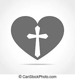 Download God christian love conceptual logo design combined with ...