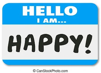 Blue hello i am on a conference call name tag sticker making... stock illustration - Search Clipart. Drawings and Vector EPS Graphics Images ...