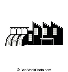 Power station Clipart Vector Graphics. 27,118 Power