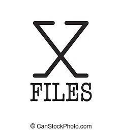 X files Vector Clipart Illustrations. 812 X files clip art