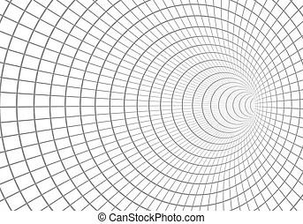 3d circle twist. Business concepts / element object
