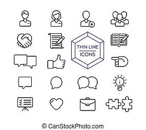 Web marketing business tree plan. Social network tree