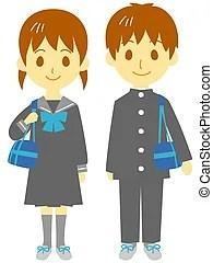 clip students junior clipart illustrations illustration royalty