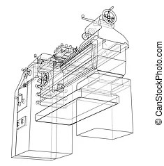 Lathe Stock Illustrations. 826 Lathe clip art images and