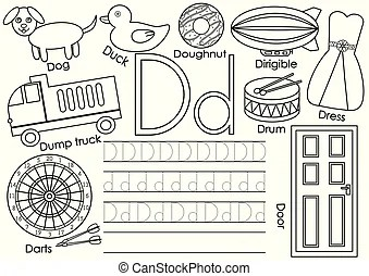Learning english Clip Art Vector and Illustration. 14,041