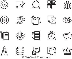 Agile Vector Clip Art Illustrations. 850 Agile clipart EPS