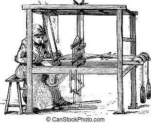 Loom Stock Illustration Images. 927 Loom illustrations