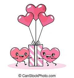 Download Heart balloons love couple. Heart balloons in love ...
