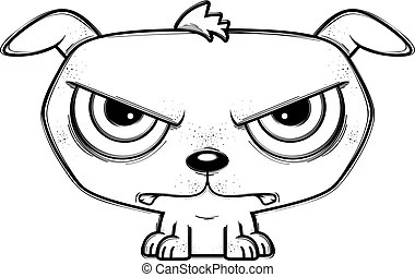 Mad dog Clip Art Vector and Illustration. 594 Mad dog