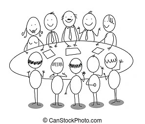 Office meeting Clip Art and Stock Illustrations. 69,106