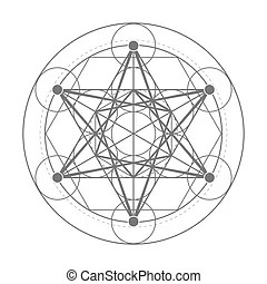 Metatron cube gold. Metatrons cube and merkaba derived