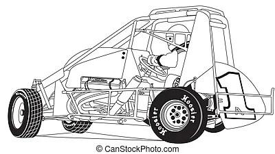 Race car Vector Clipart EPS Images. 37,425 Race car clip