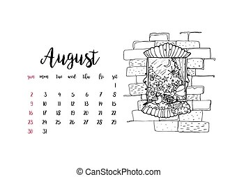 Month august Vector Clipart EPS Images. 12,628 Month