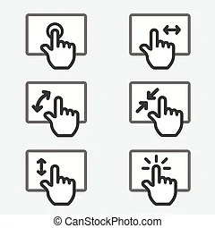 Multi touch Clipart and Stock Illustrations. 1,432 Multi
