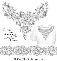 Lace collar Vector Clipart Illustrations. 183 Lace collar