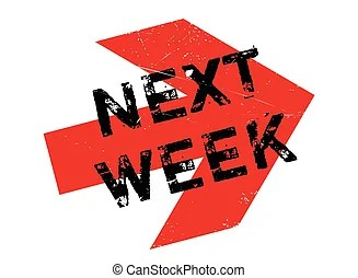 Next week Stock Illustrations. 1.092 Next week clip art images and royalty free illustrations available to search from thousands of EPS vector ...