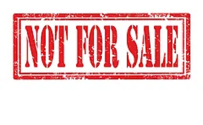 Not For Sale Stamp Not For Sale Grunge Rubber Stamp On