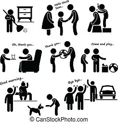 Good manners Clip Art and Stock Illustrations. 133 Good