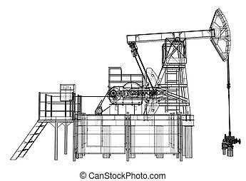 Pump jack Illustrations and Clipart. 1,954 Pump jack