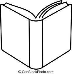 Hard cover book Vector Clip Art Illustrations. 328 Hard