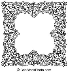 Kid book space coloring page. Black and white illustration