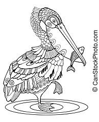 Pelican Stock Illustrations. 1,024 Pelican clip art images
