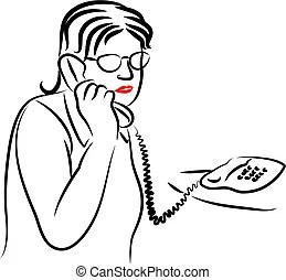 Landline Clip Art and Stock Illustrations. 625 Landline