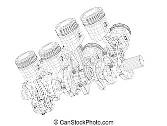 V8 engine Illustrations and Clipart. 253 V8 engine royalty