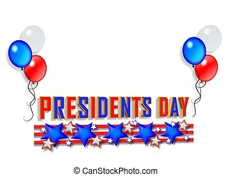 presidents day illustrations