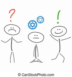 Problem solving Clipart Vector and Illustration. 9,075