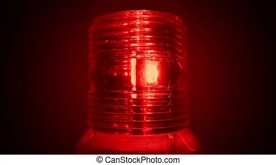 red alert alarm light