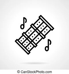 Music notes triple.