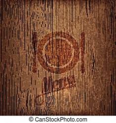 Restaurant menu design on wood background CanStock