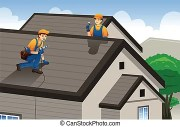 roofer roofing worker working
