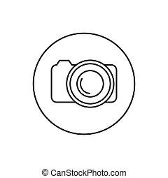 Contour camera drawing.