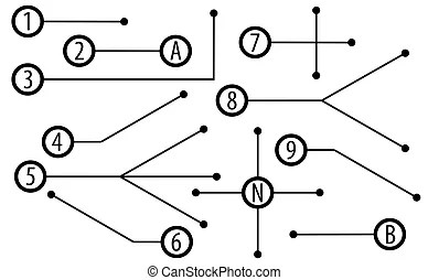 Collection of road diagrams. Set of three road diagrams