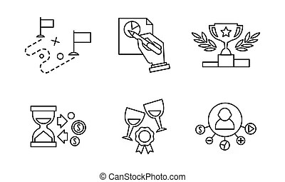 Seo and internet vector icon set web, website . Seo and